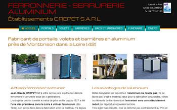 Portails et volets alu Loire