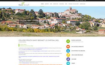 Site d'un collège