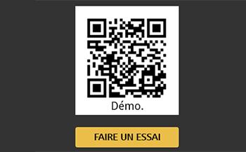 Menus bars / restaurants via QR Code